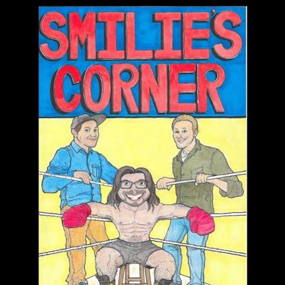 Smilie's Corner is a podcast with a trio of dudes talking about whatever we feel like.  It could be music, current events, personal stories, or anything in between.  Sometimes it's very straight forward or it goes completely off the rails.  Either way it's a good time.  Check it out.