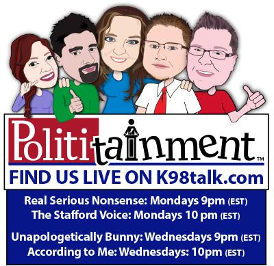 Sometimes Politics, Sometimes Nonsense, Always Entertaining. Polititainment is not just a cool name, its a theme that runs through the shows.  Looking for completely serious conversation about politics and issues? You probably won't find it here.   Looking to get caught up to speed on the news you need to know and want to laugh and possibly be offended at the same time? You have come to the right place.  SUBSCRIBE!