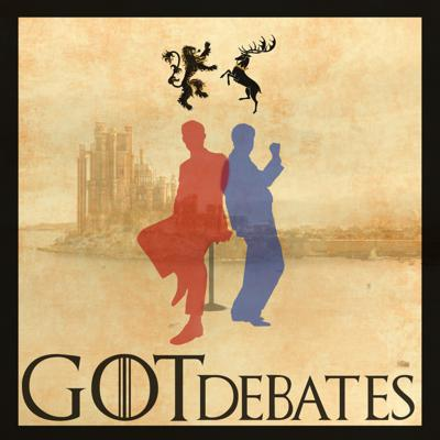 Not your average recap show! We are tired of hearing droll event by event recaps of Game of Thrones. Instead Co-hosts Brendan Paulin and Dan Fawcett drop into omniscient Lords of Westeros with wild political knowledge. The two Lords rarely agree and the theories are outrageous, as well as the name calling. Tune in and have some fun with us as we drop into our characters and have a good old fashioned debate about the politics effecting every citizen the increasingly corrupt Realms of Men as it crumbles around them each episode. Also... COMEDY!