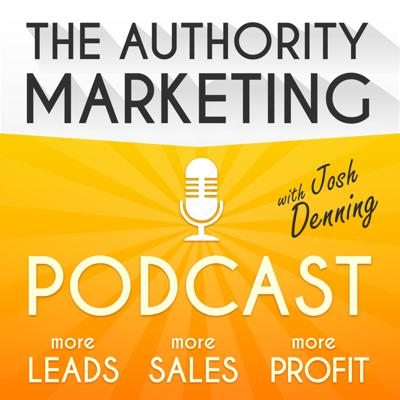 The Authority Marketing Podcast is for high-achieving business owners and entrepreneurs that want to generate more traffic, create more authority and capture and close more clients for their business. To learn a scalable and predictable approach to growing revenue, listen daily...