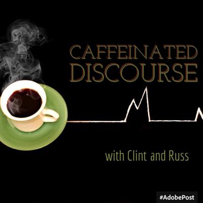Caffeinated Discourse is a podcast between two mates across the oceans talking about everything they love.  Movies, music, tech, travel and everything and anything could be discussed over large amounts of coffee of course!  Aiming to be a monthly podcast starting in February 2016.