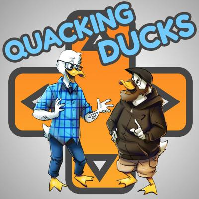 Legend tells of a duck, whose sole purpose was to draw the criticism of game developers...  Quacking Ducks is a podcast in which two friends, Grant and Eric, talk about the media they love.   With the belief that examining works with a critical eye fosters growth as creatives, Grant and Eric take turns each week picking a work they love and discuss what they liked, hated, feared, and respected about it.  They try to be funny too, but no promises.