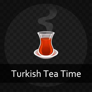 Join us at Turkish Tea Time (turkishteatime.com) as we chat about the Turkish language, its grammar, and how it's spoken in every day life. We're Turkish learners, Turkish teachers, and Turkish people ourselves - so we understand what it takes to get a grip on this amazing language. Published daily, each lesson revolves around a dialog that focuses on a single language point. There's something here for every Turkish learner: the difficulty level of each day's lesson rotates between four levels, from absolute beginner to extremely advanced. To follow along each day with annotated dialogs, vocabulary, audio, and quizzes, join us over at turkishteatime.com.