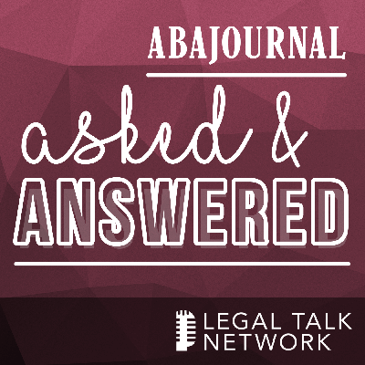 Cover art for ABA Journal: Asked and Answered : COVID-19 hasn't stopped this lawyer from advocating for wellness and recovery