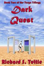 Dark Quest is the second volume of the Targa Trilogy, which is the cornerstone of the epic fantasy Alcea Collection which spans seventeen volumes in three series. The Targa Trilogy began with Origin Scroll.  The evil magician, Sarac, has been banished to another Universe, but his followers strive to free him. Sarac's assistant. Mordac, gathers hundreds of dark magicians and instructs them to gather every book in the world, no matter what it takes. While his minions brutally execute his orders, Mordac plots the downfall of all of the governments on the continent. As Alexander and Jenneva try to halt the coming chaos, their own country turns against them.