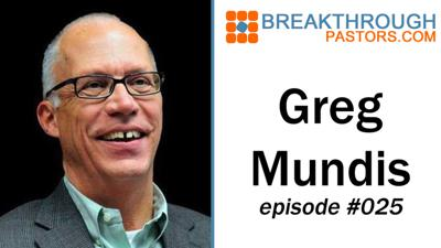 Cover art for 025-Reaching the World with Greg Mundis - PDF