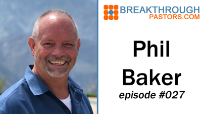 Cover art for 027-Launching an Online Ministry with Phil Baker - Audio