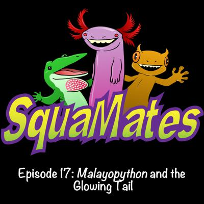 Cover art for SquaMates Ep. 17: Malayopython and the Glowing Tail