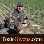 This channel contains video podcasts that include hunting articles, stories, and actual hunts that I have created during my year round hunting adventures. You can get watch the HD version of these hunts at www.ToxieGivens.com and you can watch similiar videos on our hunting network at www.Hunt365.tv.