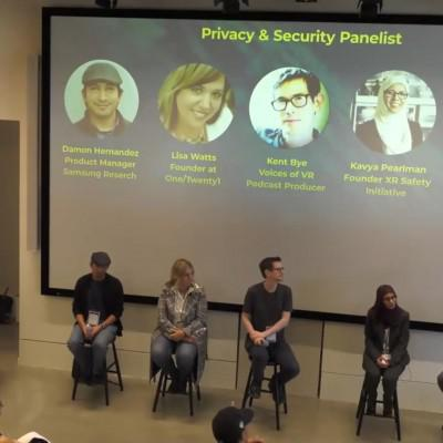 Cover art for #833 XR Ethics: Open AR Cloud Panel Discussion on XR Privacy