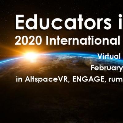Cover art for #916: Educators in VR Meetups & Virtual Conferences