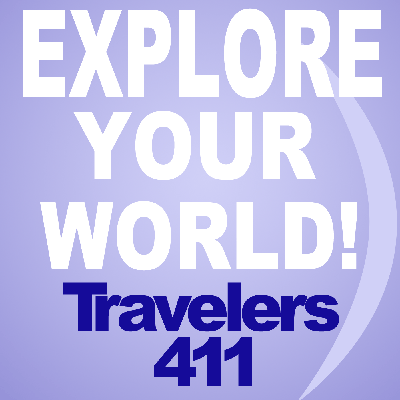 Travelers411 is a weekly 3 hour travel show featuring destinations across the world with expert guest interviews from hotels and attractions in these locations.  Show host Stephanie Abrams is an acknowledged Travel Industry Expert and brings her own sense of exploration, leisure, sophistication and fun to the show.  Travelers411 is nationally synidicated on both AM and FM Stations across the USA and also streams live online at www.travelers411.com.  Travelers411 ® is a Registered Trademark of Travelers411.  Visit www.travelers411.com for more information and to explore our great content.