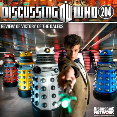 Cover art for Episode 204: Review of The Victory of the Daleks, Doctor Who Series 5 Episode 3