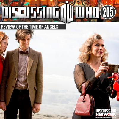 Cover art for Episode 205: Review of The Time of Angels, Doctor Who Series 5 Episode 4