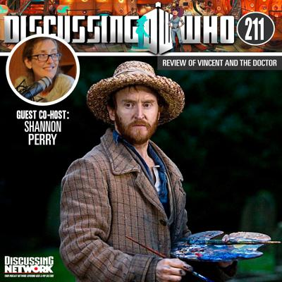 Cover art for Episode 211: Review of Vincent and the Doctor, Doctor Who Series 5 Episode 10