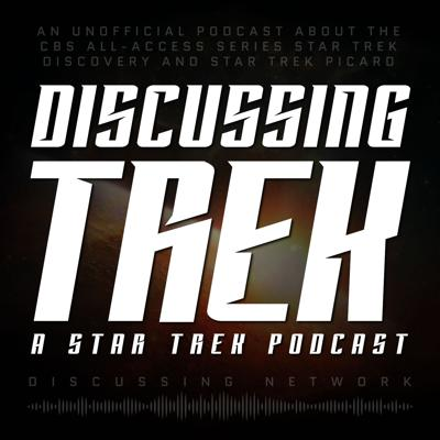 Discussing Trek: A Star Trek Podcast is an unofficial podcast covering all Star Trek CBS All-Access series (The Original Series, The Animated Series, The Next Generation, Deep Space Nine, Voyager, Enterprise, Discovery, Star Trek Picard, Lower Decks, Strange New Worlds).  We review each episode in somewhat excessive detail, in addition to talking all things trek.
