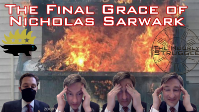Cover art for The Final Grace of Nicholas Sarwark