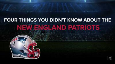 Cover art for 4 Things You Didn't Know About the New England Patriots