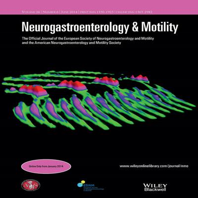 Neurogastroenterology & Motility – November 2016