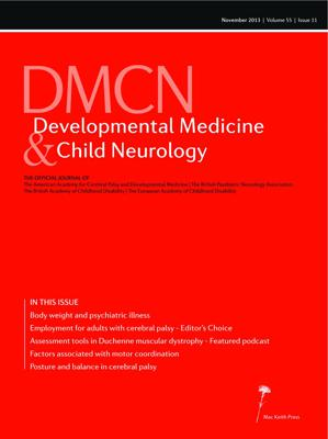 DMCN Discussion: 'Development of a Performance of Upper Limb module for Duchenne muscular dystrophy'