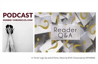 Cover art for Reader Q&A: Femdom Podcast #112 [Audio]