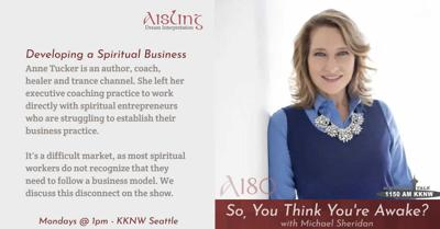 Cover art for Developing A Spiritual Business
