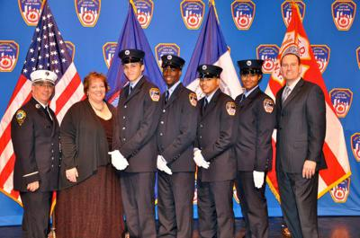 Cover art for S3, E37 Pipeline to an FDNY Career with Commissioner Michele Maglione and FDNY EMT Denzel Adonis