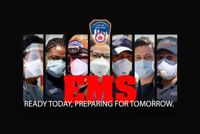 Cover art for S5, E54 FDNY EMS On the Frontlines of the COVID-19 Pandemic with Paramedic Kimberley Laychock