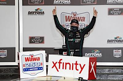 Cover art for Frontstretch Podcast: Intensity in Daytona, Justin Haley Reflects on Xfinity Win