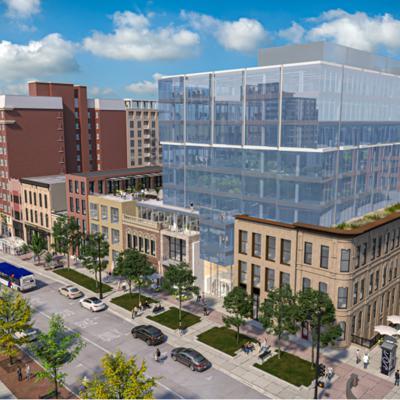 Cover art for What pandemic? Madison's building boom still going strong