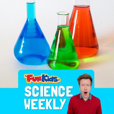 Cover art for Bright Blue Lava & A Chemistry Expert