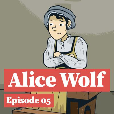 Cover art for Alice Wolf and The Pirate's Gallows