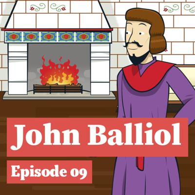 Cover art for John Balliol and his staff