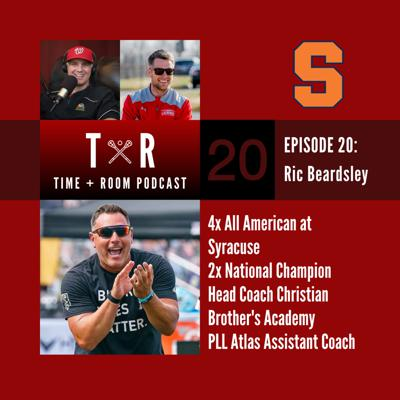 Cover art for 'Time and Room Podcast' with EB & Coach Dane Smith: Episode 20 - Ric Beardsley