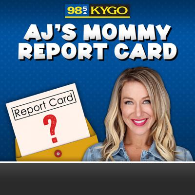 Cover art for AJ's Mommy Report Card   7- 24
