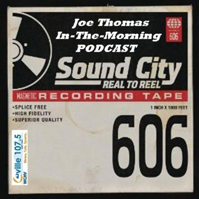 WCHV's Joe Thomas in the Morning Podcast