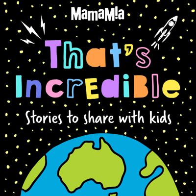 That's Incredible is a podcast for parents and kids that's packed with incredible facts and amazing stories about the world around us.  Hosted by Andrew Daddo, each week we go on an adventure and explore topics like the human body, sport, music, science, technology and space.  Plus, we'll find out what it's like to travel to the moon, sing in front of the Queen and climb to the top of Mount Everest! This podcast was made in partnership with Subaru.