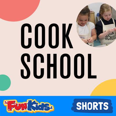 Cook School's ambition is to teach children to cook basic, healthy meals and give them the skills and the confidence to cook time and time again at home for their family and friends!  UK children's radio station Fun Kids is sharing some of Cook School's favourite recipes!  Find more recipes and get cooking tips at http://www.FunKidsLive.com/cookschool