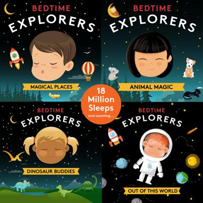 Exciting news! Bedtime Explorers has been nominated for a Webby Award!! It means Bedtime Explorers has been singled out as one of the five best in the world in its category and we need your help to vote it to #1.  Voting closes at 11pm 8 May. So hurry, hurry, hurry!  Vote here: bit.ly/WebbyVote2020 Now about Bedtime Explorers...Slow down and snuggle down with Kinderling's relaxing meditation series, specially designed to soothe kids to sleep. Join mindfulness coach Amy Taylor-Kabbaz, as she guides kids on wonderful, imaginative journeys to magical places, visiting animals with super powers, and meeting up with some very friendly dinosaurs. Executive Producer: Lorna Clarkson Host: Amy-Taylor Kabbaz Music Season 1 & 2: Gentleforce Editing and Sound Design: Max Gosford If you love this series, please like, subscribe and leave us a nice comment. It really helps! And for more great children's meditations, entertainment and music, visit us at kinderling.com.au. And for more about Amy, visit happymama.com.au.