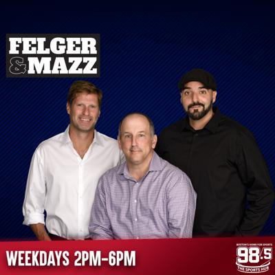 Full show podcasts in one-hour segments, of Felger & Massarotti, updated weekdays. Listen to Felger & Mazz live every weekday from 2pm-6pm ET on Boston's Home for Sports, 98.5 The Sports Hub.