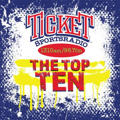 The Ticket Top 10 is your audio safety net. Curated and hosted by Matt Bermingham, The Top 10 is a replay, regurgitation and review of the station's best Hot Sports Opinion Discussions, hilarious funny bits and wheels-off-the-cuff moments that you may have missed the first time around. Or maybe they were so nice, you want to hear them twice, and that's what the Ticket Top 10 is for. It's our best of the best from the broadcast day from your favorite Ticket shows and hosts. Subscribe to this podcast on iTunes or your favorite podcast app.