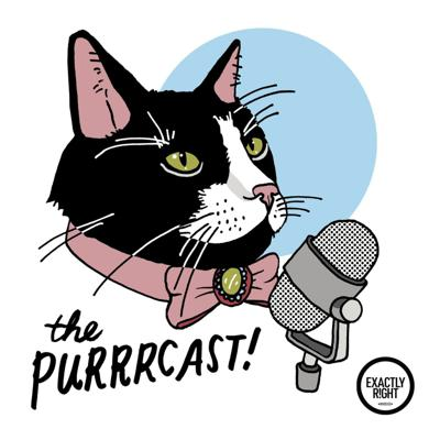 """Hosts Sara Iyer and Steven Ray Morris, producer for """"My Favorite Murder,"""" talk to cat people because they can't talk to their cats.Theme song by Analise Nelson and Dax Schaffer Artwork by Jillian Yoffe"""