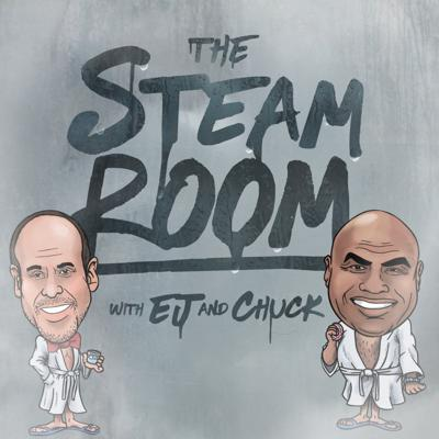 The Steam Room is the new audio vehicle for two of sports media's most iconic personalities, keeping the conversation going beyond from the desk inside Studio J. After nearly 20 years on TNT's Inside The NBA, Ernie Johnson and Charles Barkley still have a lot to talk about, and with this platform they'll tackle new topics in the classic unscripted style that fans have come to love. In addition to NBA talk, EJ and Chuck will dive into current events, pop culture, and even local news. Look for The Steam Room on Thursdays starting December 12th.