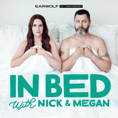 Megan Mullally and Nick Offerman have been a couple for 20 years - 138 years in Hollywood time - and in their brand new podcast they take listeners directly into their bed... because that's where every episode is recorded - their bed. Cozying up with their famous friends, your favorite couple provide a funny, revealing, and very candid look into their relationship and life at large. In some episodes, they'll even kick the guest out of bed and get extra personal in what some have called the most searing and rawly sexual conversations ever to burn their way through a voice recorder. Oh, yes. It's that good. Join Megan and Nick for some serious pillow talk.