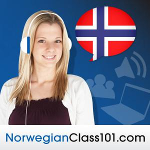 Learn Norwegian with Free Podcasts Whether you are student or a seasoned speaker, our lessons offer something for everyone. We incorporate culture and current issues into each episode to give the most informative, both linguistically and culturally, podcasts possible.  For those of you with just the plane ride to prepare, check our survival phrase series at NorwegianClass101.com. One of these phrases just might turn your trip into the best one ever!