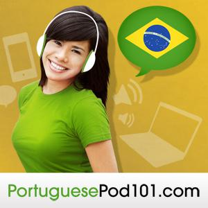 Learn Portuguese with Free Podcasts Whether you are student or a seasoned speaker, our lessons offer something for everyone. We incorporate culture and current issues into each episode to give the most informative, both linguistically and culturally, podcasts possible.  For those of you with just the plane ride to prepare, check our survival phrase series at PortuguesePod101.com. One of these phrases just might turn your trip into the best one ever!