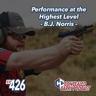 Cover art for Episode 426: Performance at the Highest Level – B.J. Norris