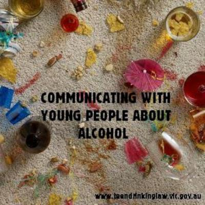 Cover art for Communicating with Young People About Alcohol