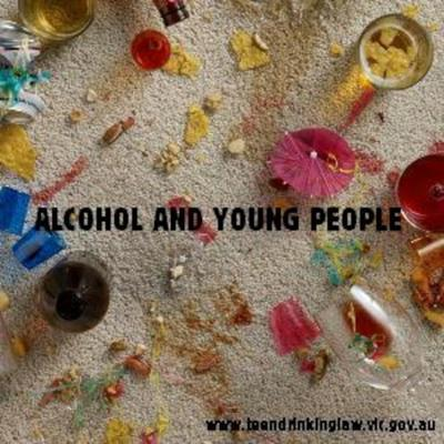 Cover art for Alcohol and Young People