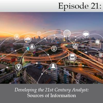 Cover art for Developing the 21st Century Analyst: Sources of Information